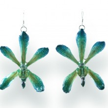 Green Arachnostylis Earrings