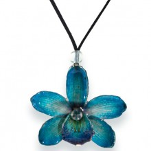 Blue Cymbidium Orchid