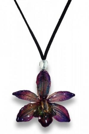 Purple Cymbidium Orchid