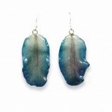 Blue Lotus Earrings
