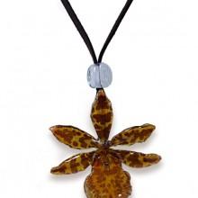 Orange Little Tiger Necklace